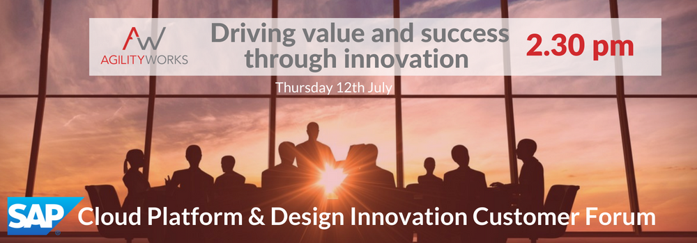 Blog header SAP Cloud Platform and Design Innovation Customer Forum